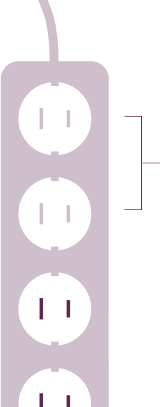 Power strip image